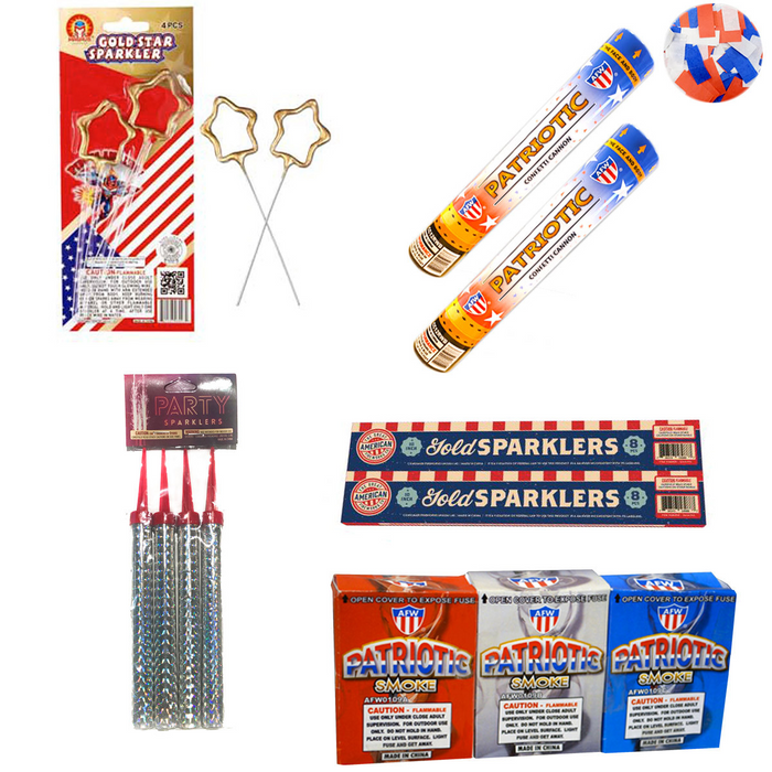 Red, White & Blue - July 4th Package