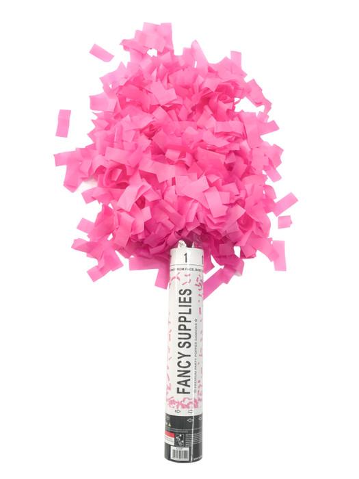"""12"""" Confetti Cannon - Pink"""