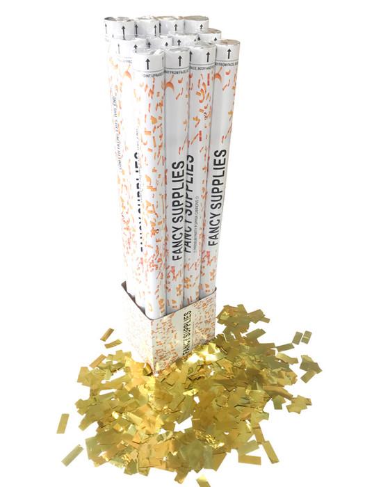 """30"""" Confetti Cannon - Metallic Gold"""