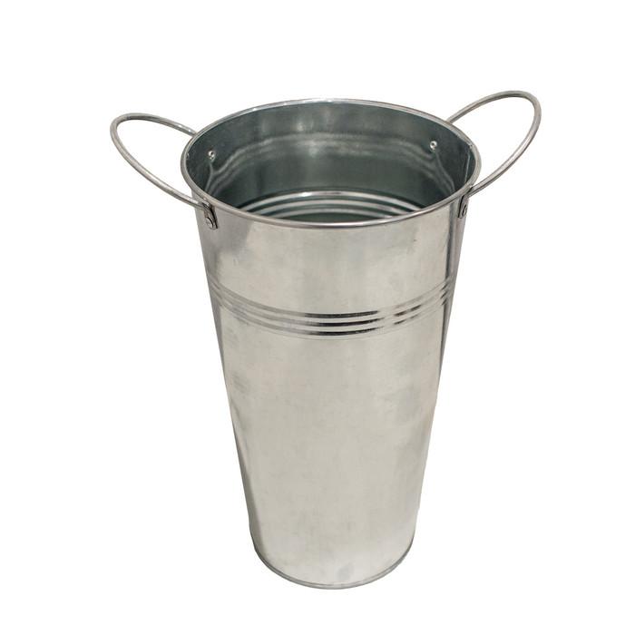 "Wedding Bucket Display 11'' - Silver or Brown - (Designed for 20"" Sparklers)"