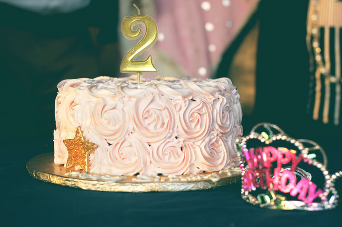 Gold Number Birthday Anniversary Wedding Candle (Gold 3-inch)