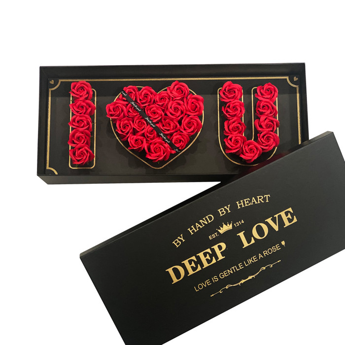 """I LOVE U"" Eternal Roses Long-Lasting Up To 3 Years!"
