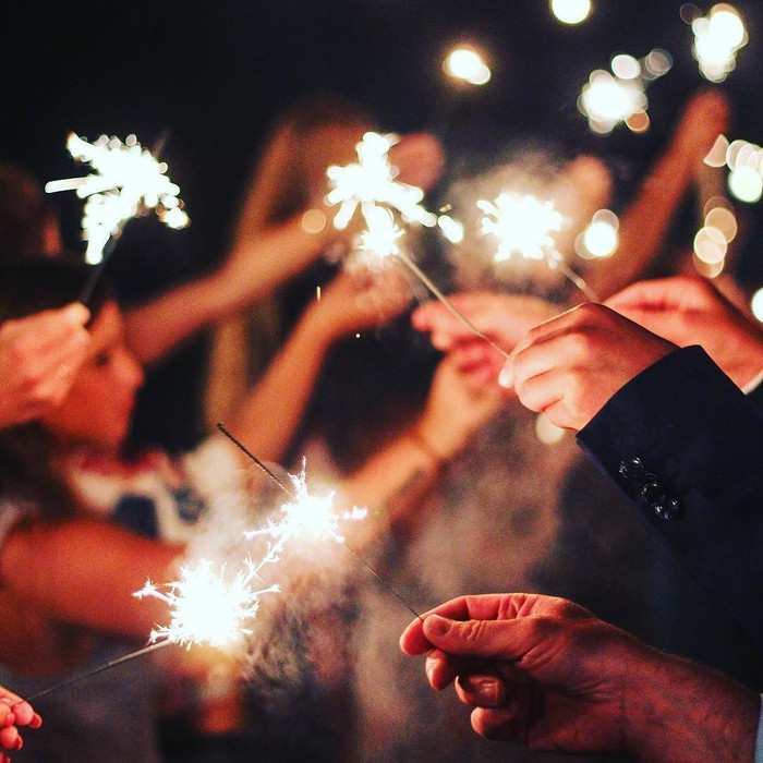 Image result for wedding sparklers