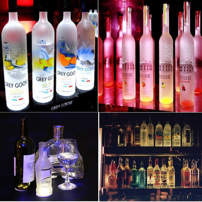 LED Glorifiers - Adhesive Bottle Lights