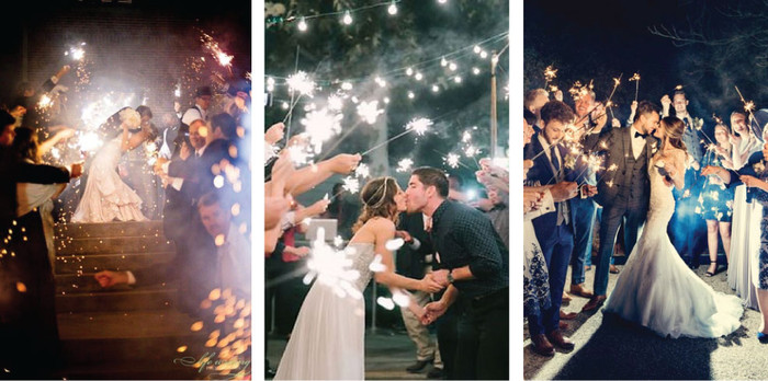 The perfect way to end your wedding ceremony