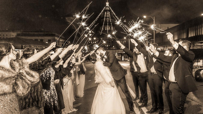 What to Consider for a Wedding Sparkler Send-Off