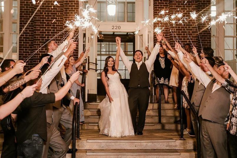 Unforgettable Wedding Sparkler Display Sparklers Us