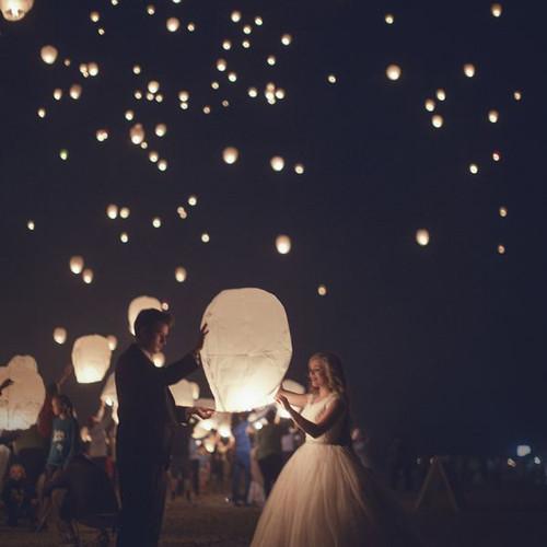 Sky Lantern Pack Of Six Sparklers Us
