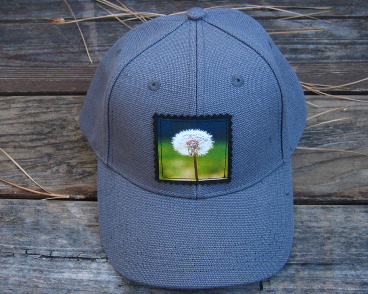 Make a wish (dandelion) Hemp Baseball Hat - Dharma Love 1ae8c69bbae
