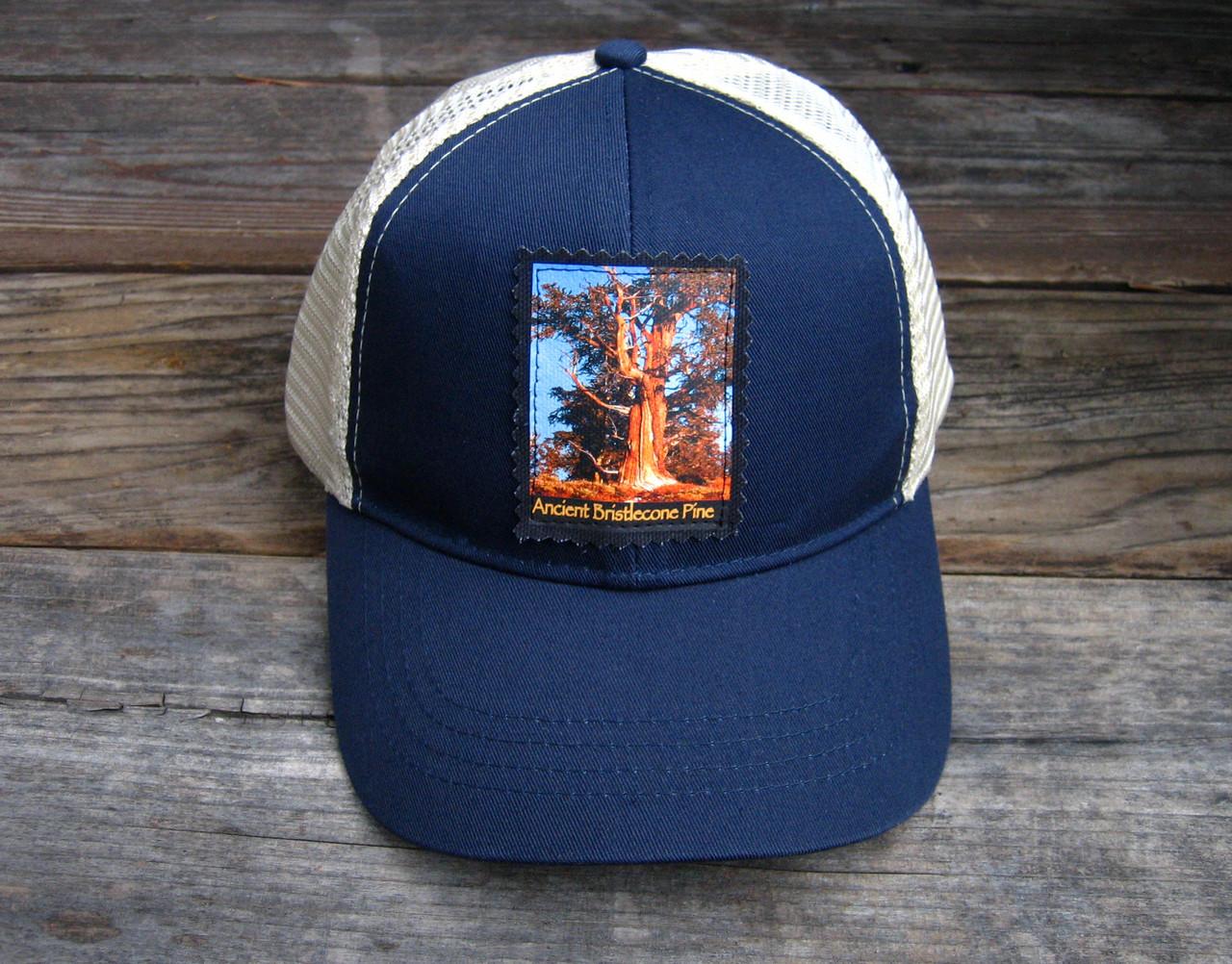 Ancient Bristlecone Pine at Sunrise Organic Cotton Keep on Truckin  Trucker  Hat - Dharma Love 913e5cfe1dc4