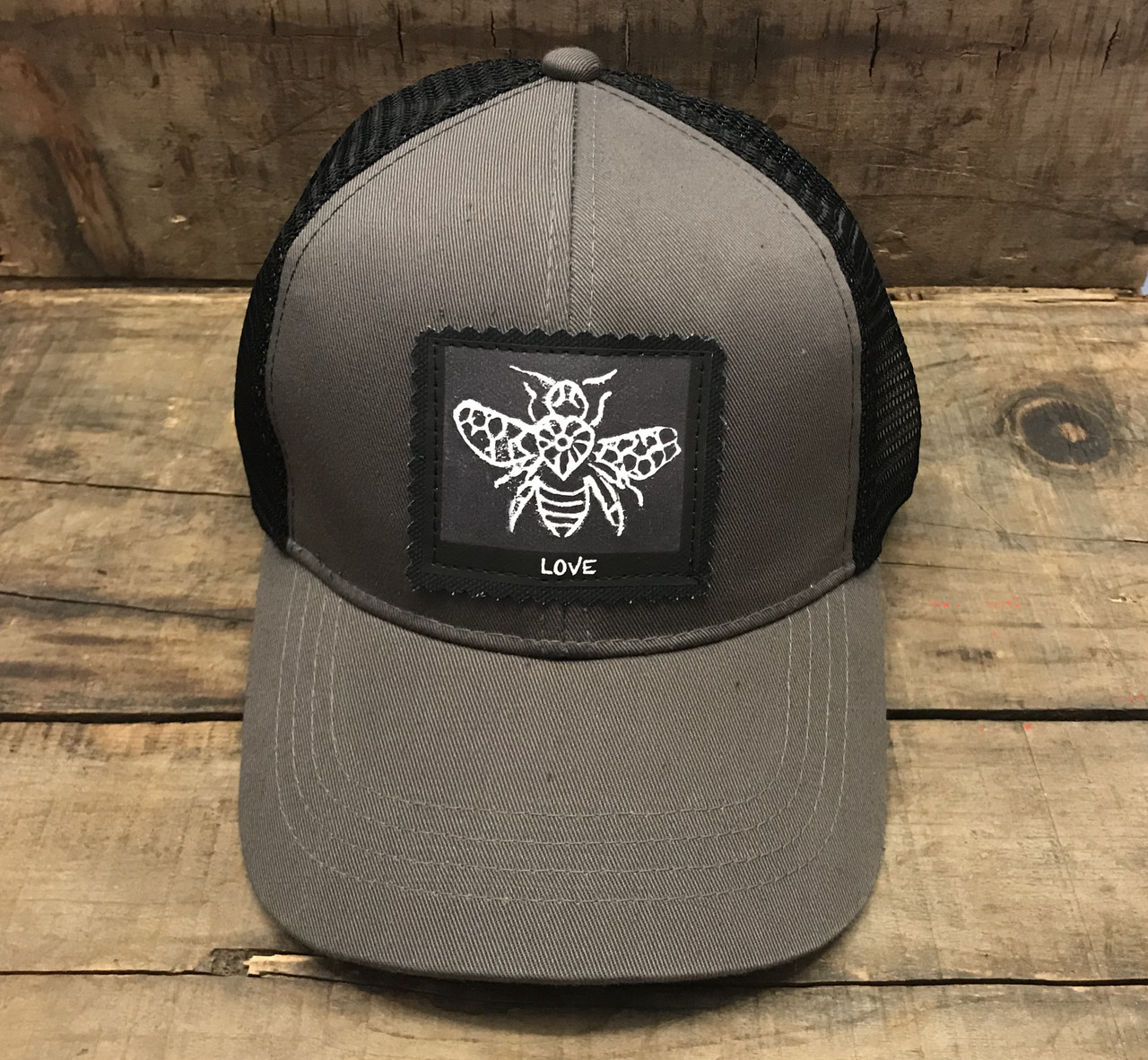 bee love charcoal hat  39715.1522016021.jpg c 2 imbypass on 7a53ea89def