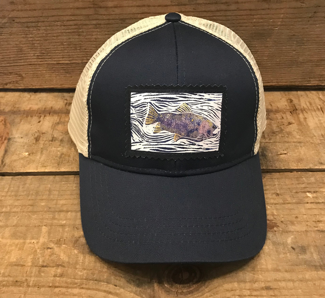 922ac282 Fish Organic Cotton/Recycled Polyester Keep on Truckin' Trucker Hat