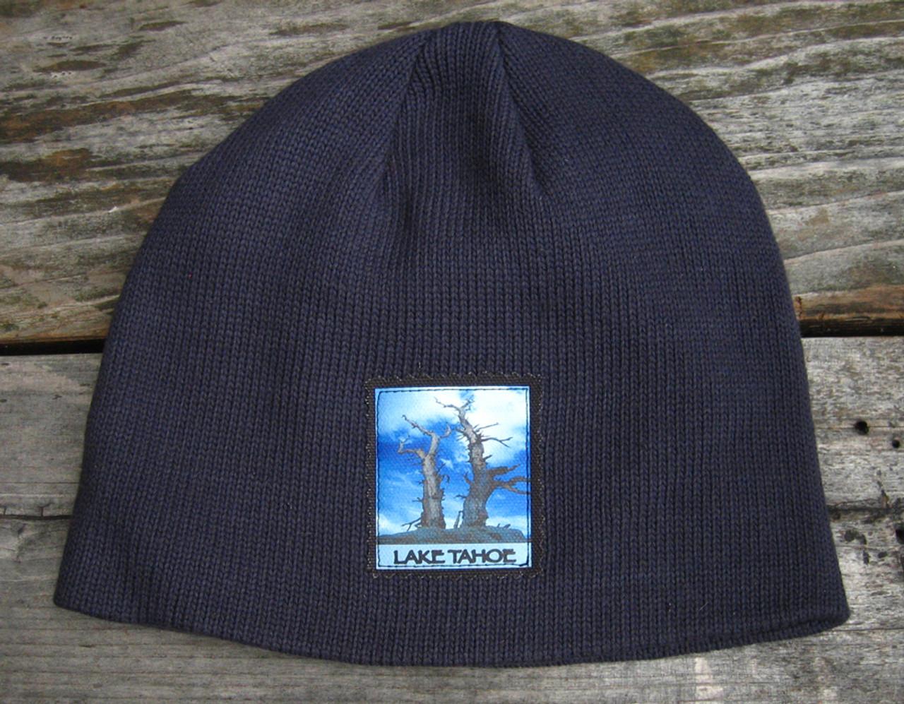 719b4199218 Snags above Lake Tahoe Organic Cotton Beanie Hat - Dharma Love