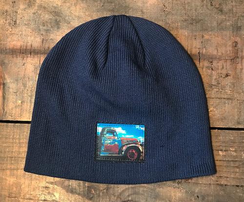 Truck in Taos Organic Cotton Beanie Hat