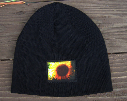 Sunflower Organic Cotton Beanie Hat
