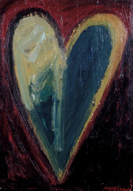 Mi corazon me recuerda (My heart reminds me), Heart Painting