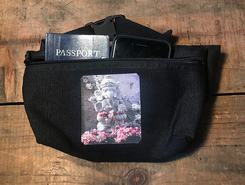 Ganesh Hemp Hip Pack & Cross Body Bag