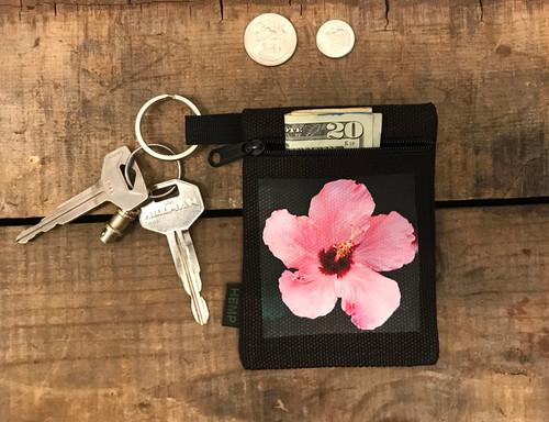 Hibiscus Hemp Key Coin Purse