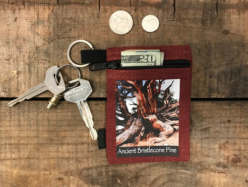 Ancient Bristlecone Pine #803 Hemp Key Coin Purse