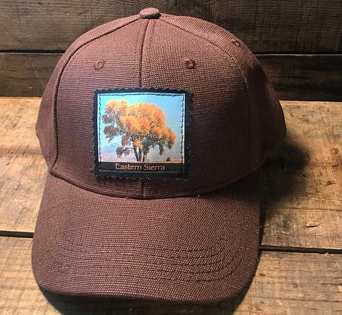 Cottonwood Tree #817 Eastern Sierra Hemp Baseball Hat