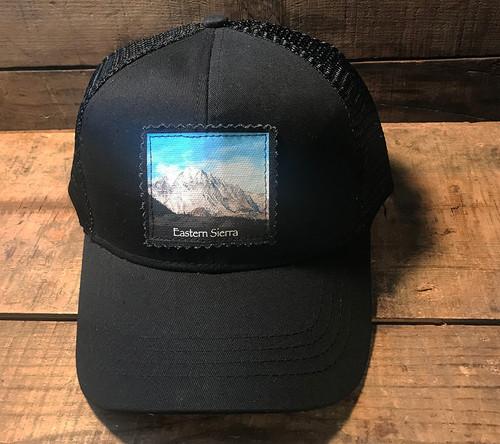 Snow Covered Mountain #825 Eastern Sierra Keep on Truckin' Organic Cotton Trucker Hat