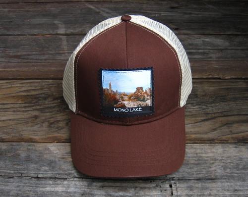 Mono Lake Tufa #831 Keep on Truckin' Organic Cotton Trucker Hat