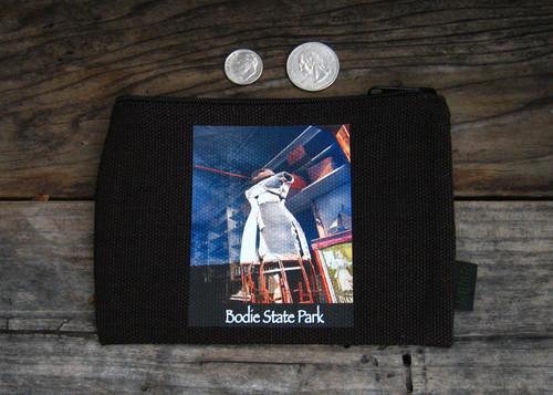 Dress Form #810 Bodie State Park Medium & Large Hemp Coin Purse