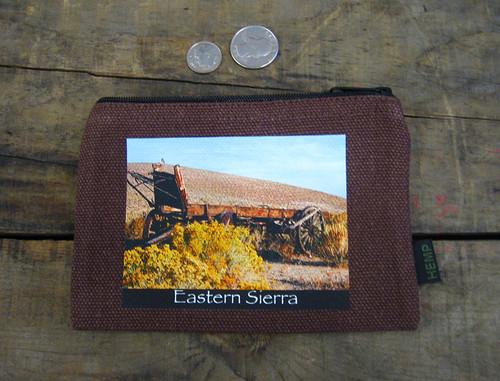 Wagon #814 Eastern Sierra Medium & Large Hemp Coin Purse