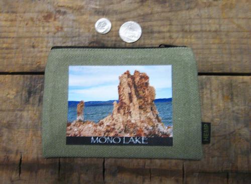 Mono Lake Tufa #829 Medium & Large Hemp Coin Purse