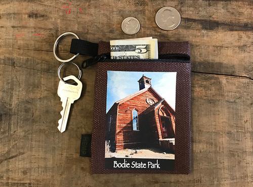 Church # 815 Bodie State Park Hemp Key Coin Purse