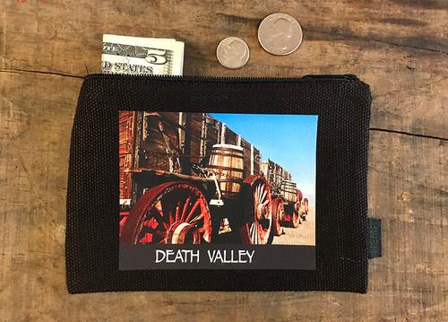 Borax 20 Mule Team Wagon #920 Death Valley National Park Medium & Large Hemp Coin Purse