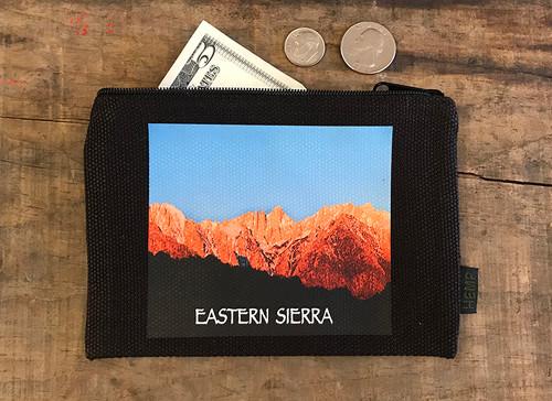 Eastern  Sierra with Mount Whitney #906 Medium & Large Hemp Coin Purse
