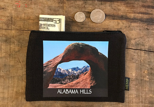Mobias Arch #909 Alabama Hills Medium & Large Hemp Coin Purse