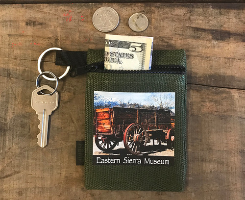 Wagon Eastern Sierra Museum #930 Hemp Key Coin Purse