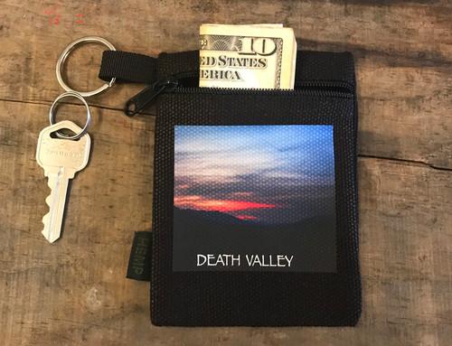 Sunset #921 Death Valley National Park Hemp Key Coin Purse