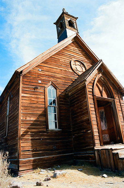Church #815 Bodie State Park Greeting Card