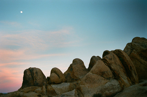 Alabama Hills Moonrise #900 Greeting Card