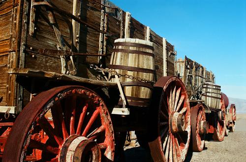 Borax 20 Mule Team Wagons #920 Death Valley National Park