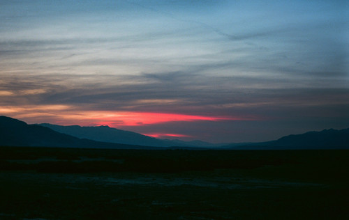Sunset #921 Death Valley National Park Greeting Card