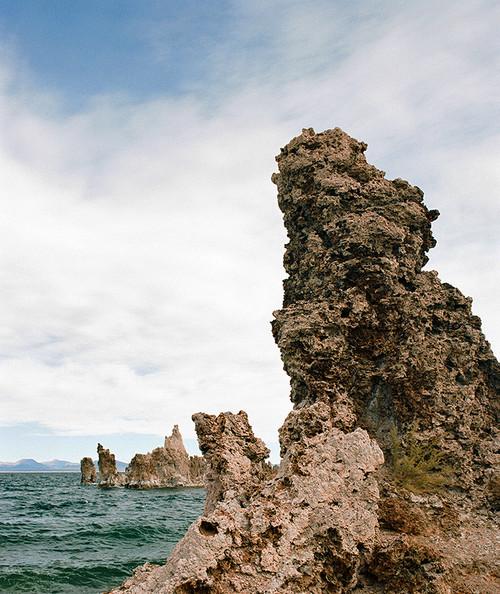 Mono Lake Tufa #828 Greeting Card