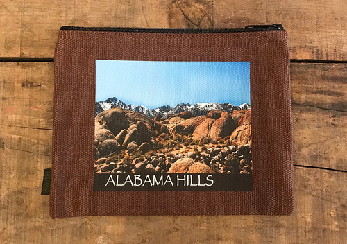 Alabama Hills #902 Medium & Large Hemp Coin Purse/Pouch