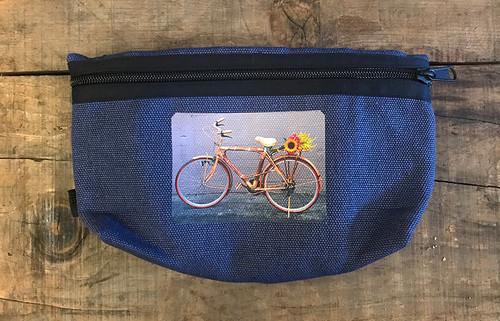 Bamboo Bike Hemp Hip Pack & Cross Body Bag
