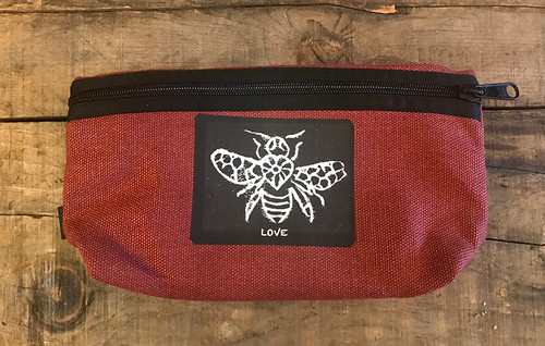 Bee Love Hemp Hip Pack & Cross Body Bag