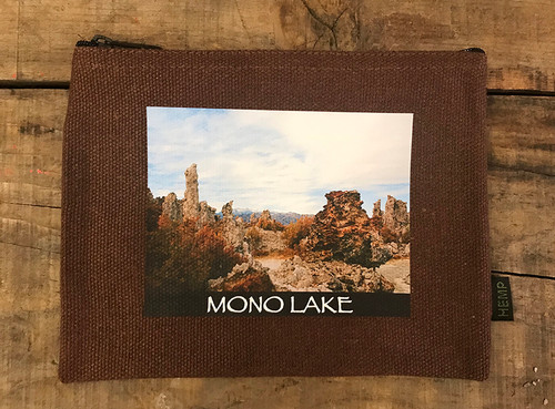 Mono Lake Tufa #831 Medium & Large Hemp Coin Purse