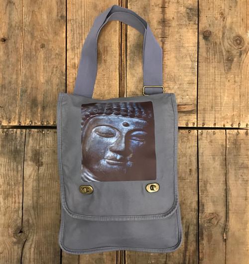 Buddha's Face Field/Messenger Bag