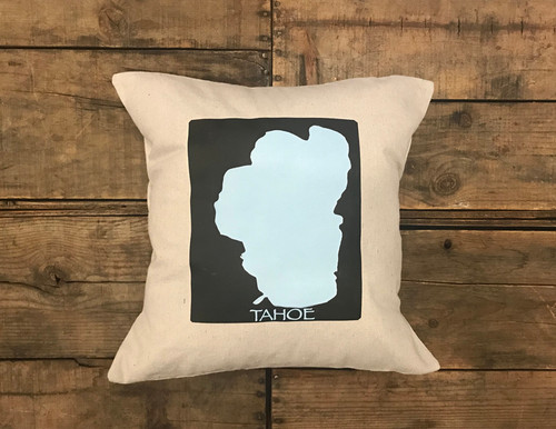 Lake Tahoe Handcrafted Pillow