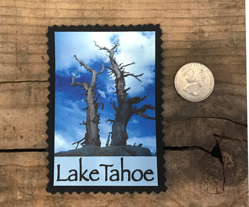 Lake Tahoe Snags above Tahoe (Tahoe Rim Trail) Sew On Patch