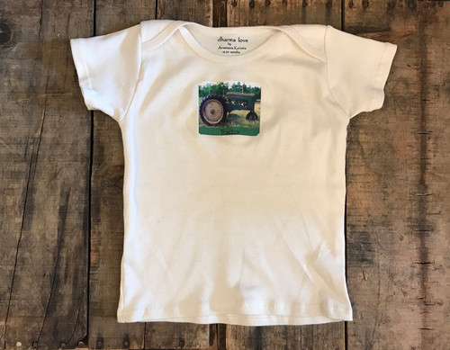 Tractor Certified Organic Cotton Toddler T 18-24 Months
