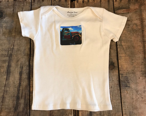 Truck in Taos Certified organic Cotton Toddler T 18-24 Months
