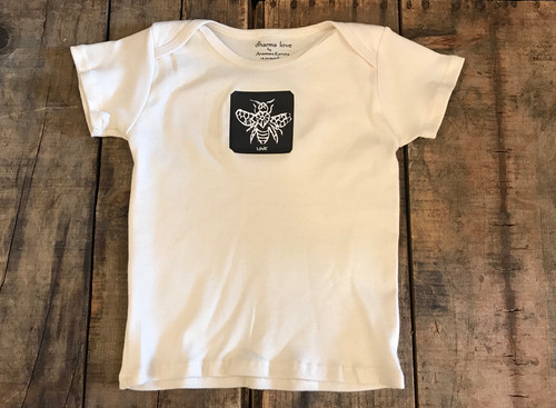 Bee Love Certified Organic Cotton toddler T 18-24 Months
